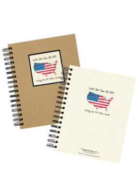 Journal Unlimited ***Let's Go See All 50 States Journal