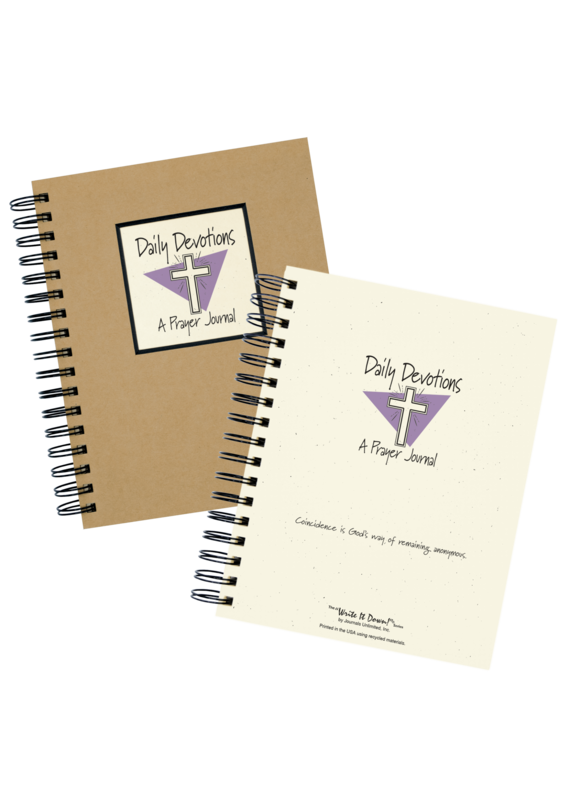Journal Unlimited ****Daily Devotions A Prayer Journal