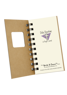 Journal Unlimited ***Daily Devotions Small Journal