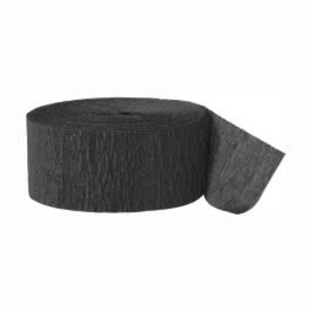 ***Unique Black Streamer - Crepe 81ft