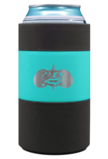 ToadFish ***Turquoise Non-Tipping Can Cooler by Toadfish