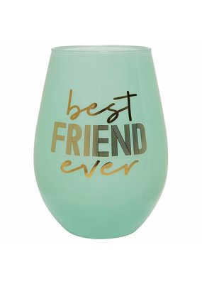 ***Best Friend Ever Jumbo Stemless Wine Glass