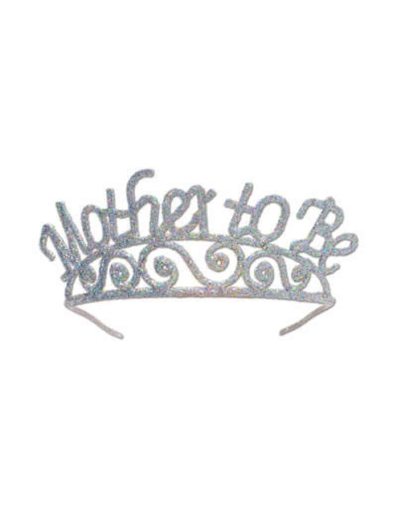 ***Glittered Mother to Be Tiara