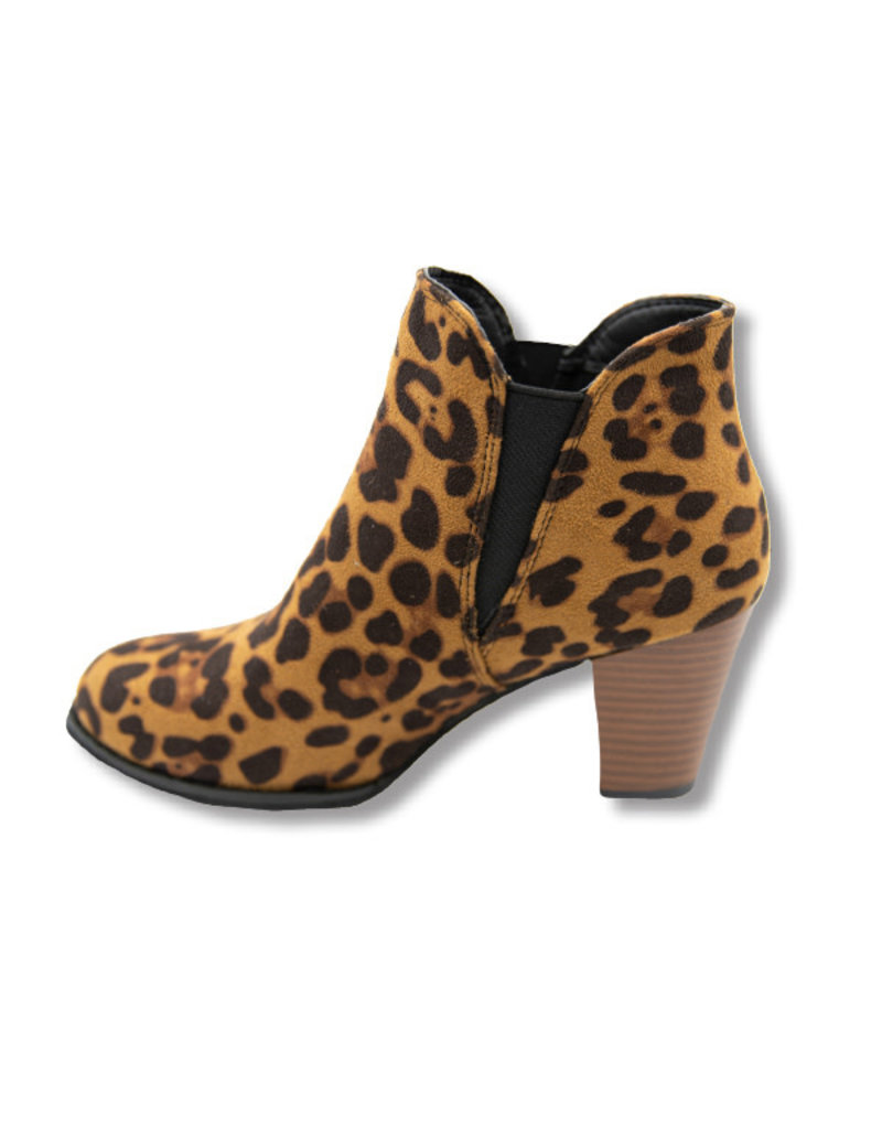 ***Simply Southern Leopard Bootie Heel Boot