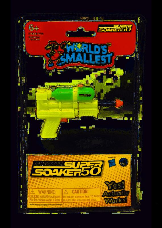 Super Impulse *****World's Smallest Super Soaker