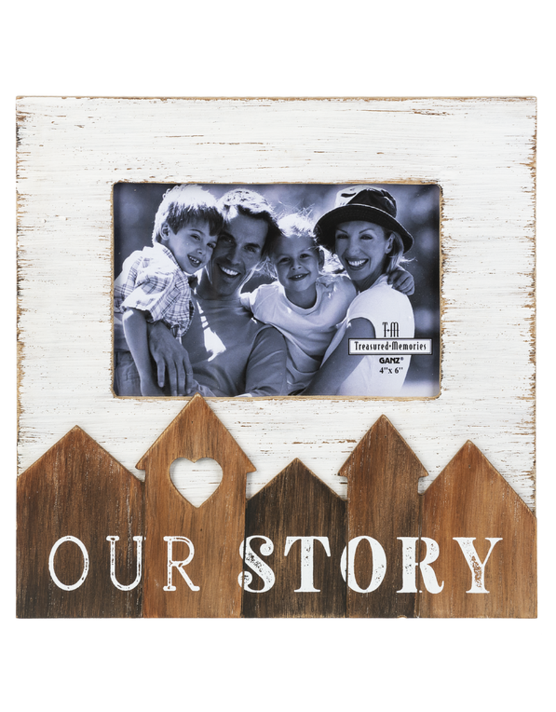 ***Our Story Wood Photo Frame