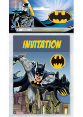 ***Batman Invitations 8ct