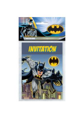 ****Batman Invitations 8ct