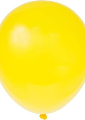 "***12"" Latex Balloons, 10ct - Sunburst Yellow"