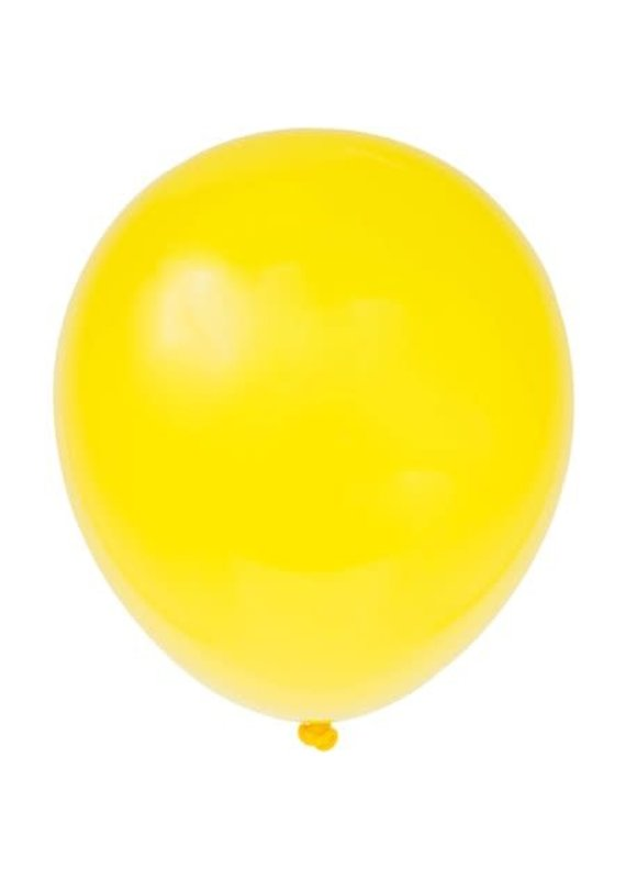 "****12"" Latex Balloons, 10ct - Sunburst Yellow"
