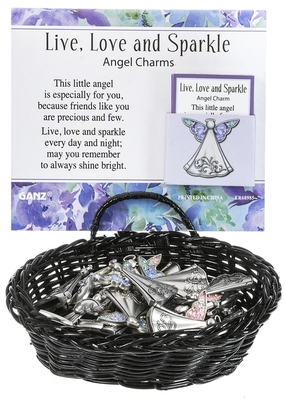 ***Live, Love, and Sparkle Angel Token