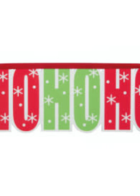 "***Ho Ho Ho 11.5"" Hanging Christmas Sign"