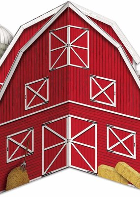 ***Red Barn 3D Centerpiece