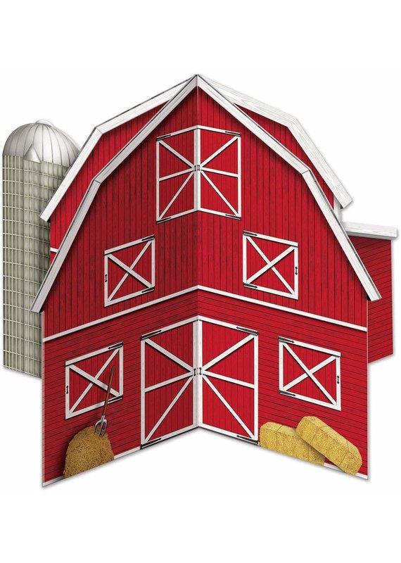 ***Red Barn 3D Centerpiece