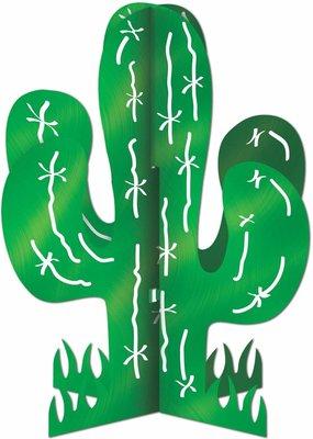 ***Cactus 3D Centerpiece