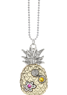 ***Pineapple Car Charm