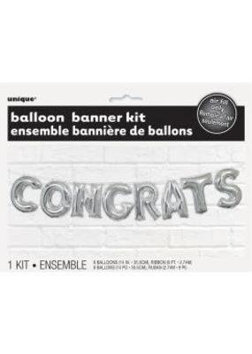 ****Congrats Letter Balloon Banner Kit