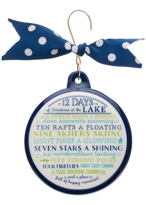 Occasionally Made ***12 Days of Christmas at the Lake Ornament