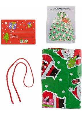 ***Jumbo Christmas Plastic Gift Bag