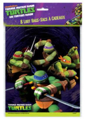 ***Teenage Mutant Ninja Turtles Loot Bags 8ct