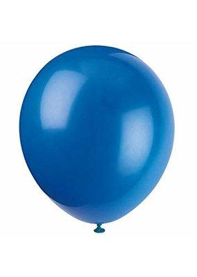 """***12"""" Latex Balloons, 10ct - Royal Blue"""