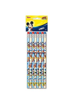 ***Mickey Mouse Roadster Pencils 8ct