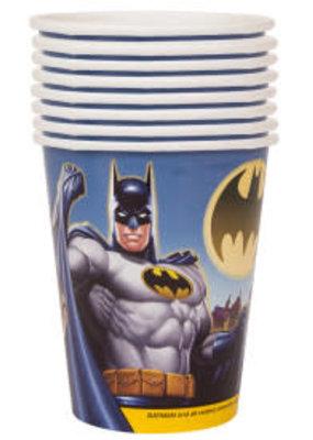 ***Batman 9oz Hot/Cold Cups 8ct