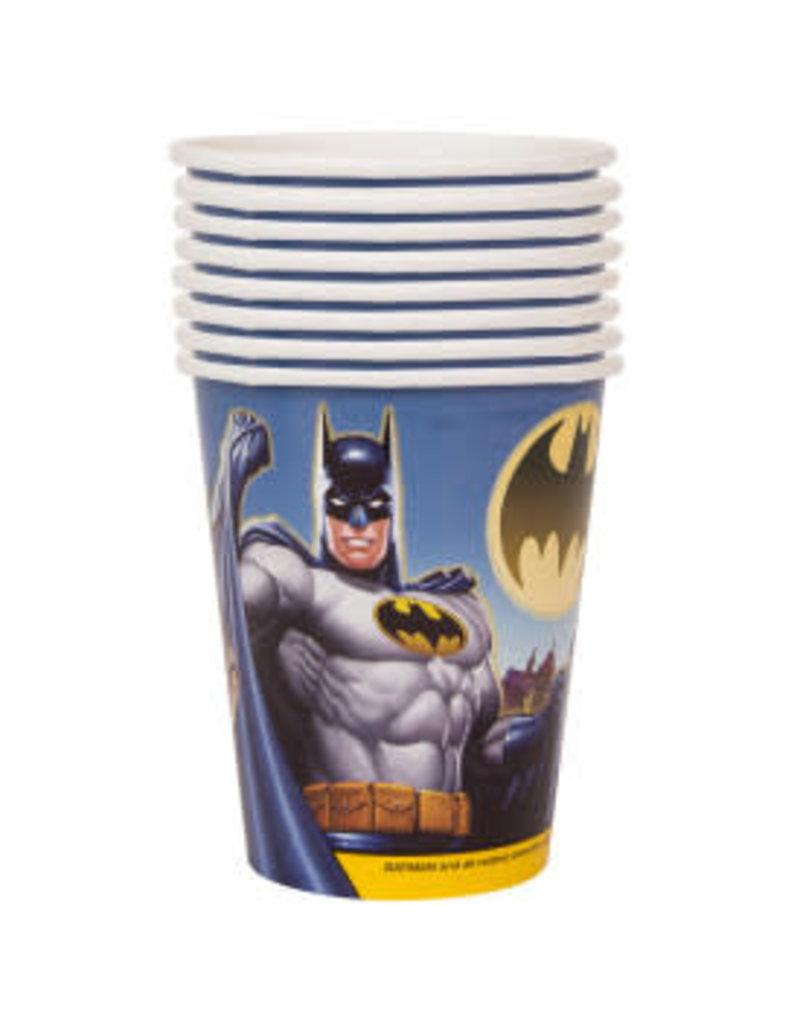 ****Batman 9oz Hot/Cold Cups 8ct