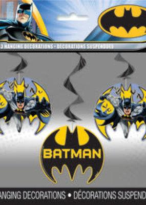 ***Batman Hanging Decorations 3ct