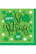***Happy St. Patrick's Day Lunch Napkins 16ct