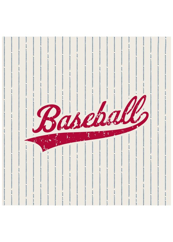 ***Baseball Lunch Napkins