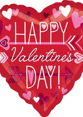 ***Happy Valentine's Day Mylar