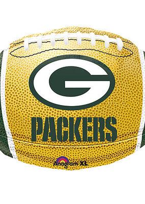 ***Green Bay Packers NFL Football Shape Balloon