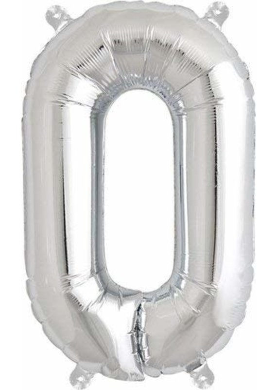 "North Star ****Letter O Air Filled 13"" Mylar Balloon"