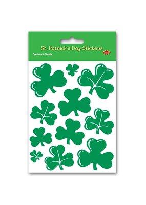 ***Shamrock St. Patrick's Day Sticker Sheets 4ct