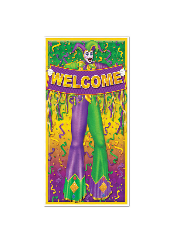 *****Mardi Gras Door Cover