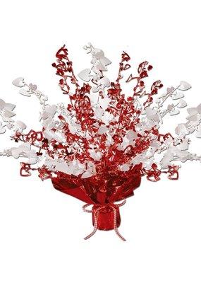 ***Valentine Heart Gleam N Burst Centerpiece