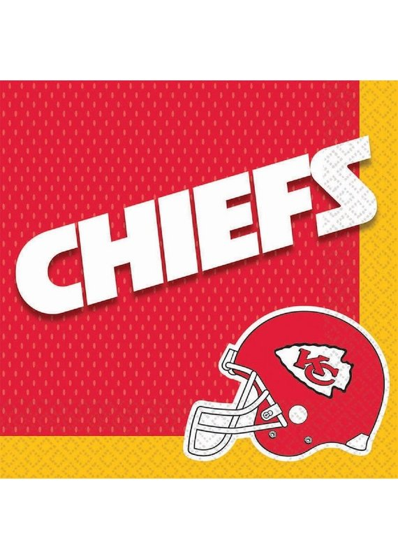 ****Kansas City Chiefs Lunch Napkins 36ct.