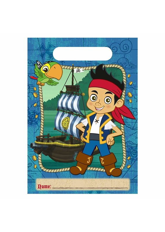 ****Jake and the Neverland Pirates Loot Bags 8ct