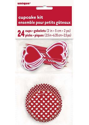 ***Valentine's Day Cupcake Kit
