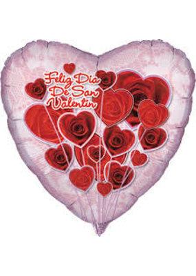 ****Feliz Dia De San Valentin Mylar Balloon