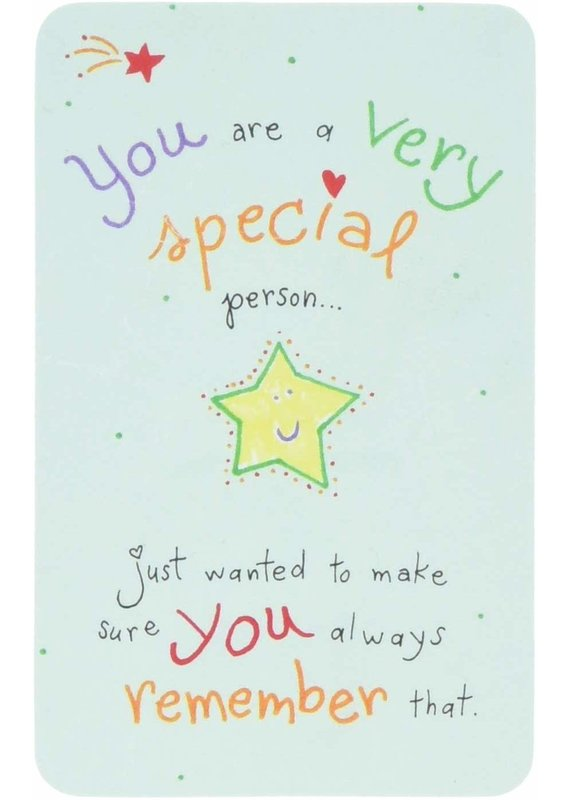 ****You are a Very Special Person Wallet Card