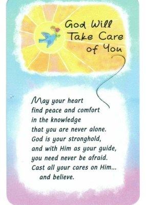 ***God Will Take Care of You Wallet Card