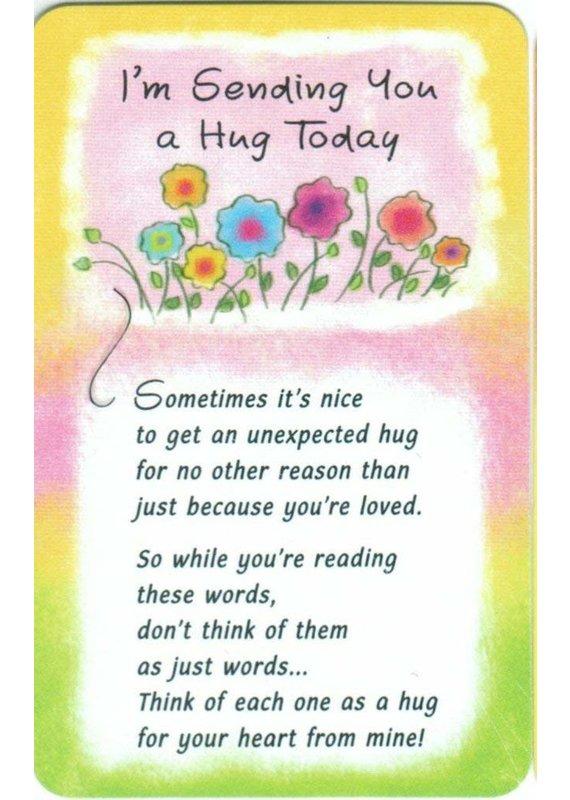 ****Sending You a Hug Today Wallet Card