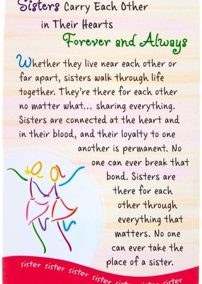 ***Sisters Carry Each Other Wallet Card