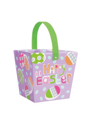 ***Lilac Easter Egg Hunt Basket