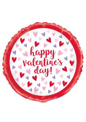 ****Sparkling Heart Valentine Mylar Balloon