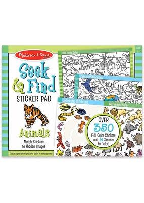 ***Seek & Find Sticker Animals Pad
