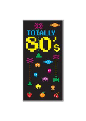 Totally 80'S Door Cover