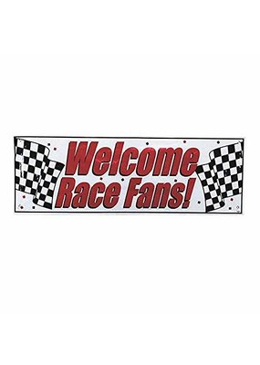 ***Car Racing Giant Banner